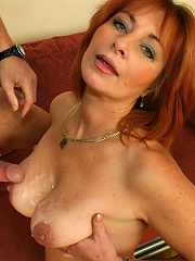 Sexy, Redheaded Grandma Bones On Camera!^hot 50 Plus Mature Porn Sex XXX Mom Free Pics Picture Gallery
