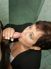 Mature Mariette Loves To Suck And Fuck On A Toilet^mature Toilet Sluts Mature Porn Sex XXX Mom Free Pics Picture Gallery