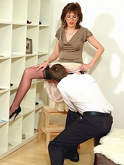 Mature Blows Office Boy^lady Sonia Mature Porn Sex XXX Mom Free Pics Picture Gallery