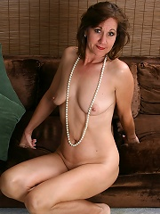 51 Year Old Housewife Lynn Shows Off Her Body Frames In Pearls Here^all Over 30 Mature Porn Sex XXX Mom Free Pics Picture Gallery