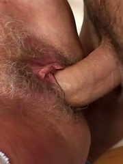 After Fucking This Steaming Hot Granny Pussy He Pulls Out And Shoots His Load On Her Hair^my Wifes Mom Mature Porn Sex XXX Mature Matures Mom Moms Ero