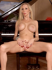 Stacked Milf Strips By Piano^40 Something Mag Mature Porn Sex XXX Mom Picture Pics