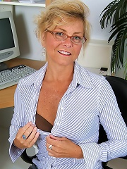 Office Milf Cricket From Allover30 Reveals Hot Tan Lines And Pussy^all Over 30 Mature Porn Sex XXX Mom Picture Pics
