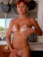 Redheaded Milf Kate Spreads Her Tight Asscheeks In The Kitchen^all Over 30 Mature Porn Sex XXX Mom Free Pics Picture Gallery