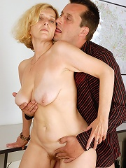51 Year Old Blonde Milf Hillary Takes Some Serious Hard Cock In Here^all Over 30 Mature Porn Sex XXX Mature Mom Free Pics Picture Gallery